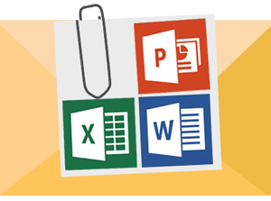 Email to Print support for Microsoft Office Word, Excel and Powerpoint.