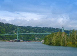 St John's Bridge, Portland, OR