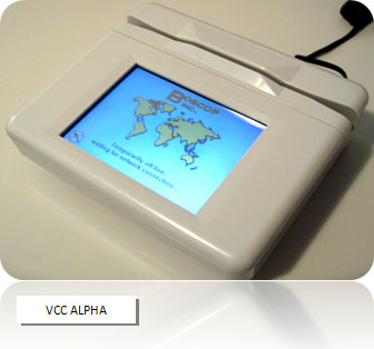 VCC Alpha touchscreen terminal