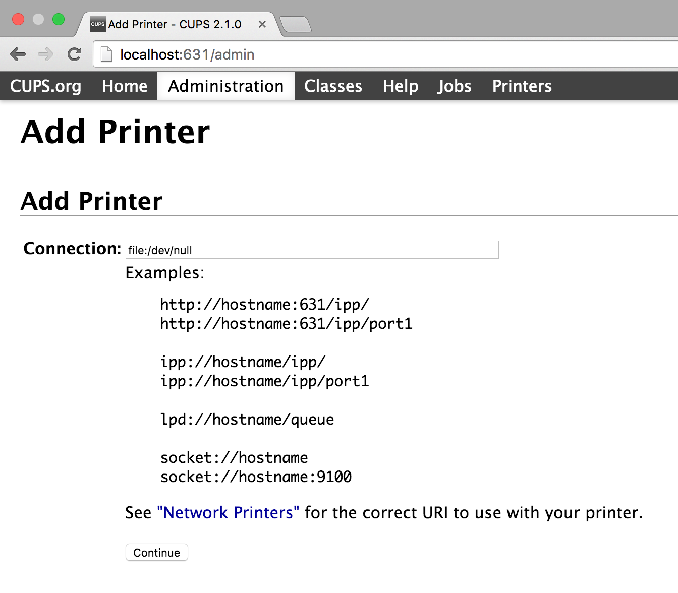 PaperCut KB | How to Setup a Null Printer on macOS