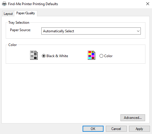 PaperCut KB | Three Ways to Save on Color toner