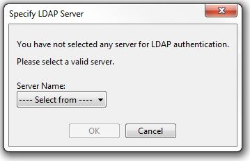 PaperCut KB | Toshiba Print Driver asks you to Specify LDAP Server