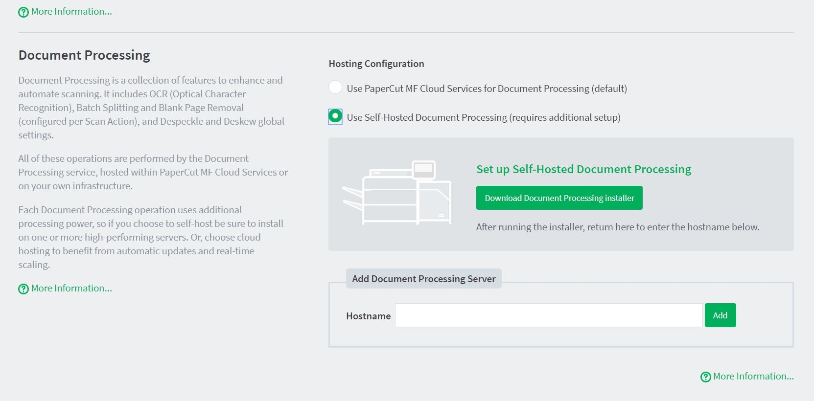 Configure Integrated Scanning