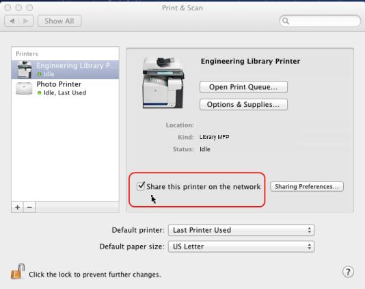 iOS printing (iPad & iPhone)
