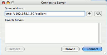Install the User Client on Mac OS X