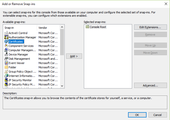 Use An Existing Iis Certificate