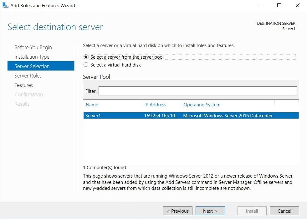 Microsoft Failover Cluster Manager (MSFCM) on Windows server 2012/2016