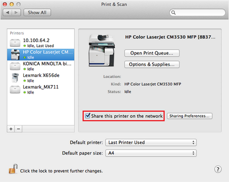 Setting Up The Printers On Mac Workstations